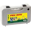 Brunner Peg Box Stick Plus Tentaccessoires hardware 20 stuks 25 cm grijs